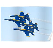 Blue Angels Diamond Pass  Poster