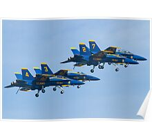Blue Angels Dirty Diamond Poster