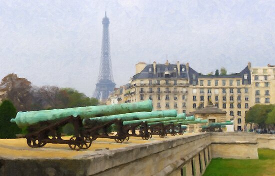 Paris - Les Invalides by Tom  Reynen