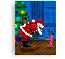"""Gift For Santa"" Canvas Print"