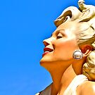 Marilyn in the Sky with Pearls by Ginadg73