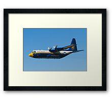 Blue Angels Fat Albert High Speed Pass Framed Print