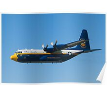 Blue Angels Fat Albert High Speed Pass Poster