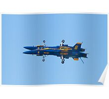 Blue Angels Fortus Poster