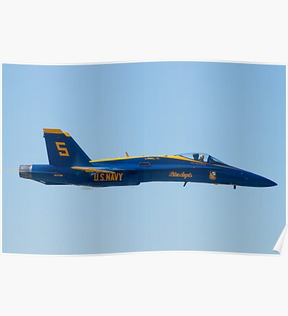 Blue Angels Solo #5 Sneak Pass Poster