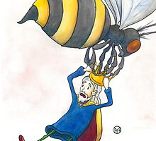 Giant Bumblebee Steals King's Crown by Tim Gorichanaz