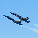 Blue Angels Solos High Alpha Pass by Henry Plumley