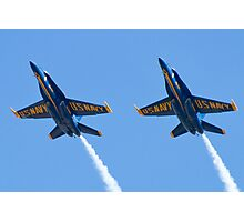 Blue Angels Solos Pass  Photographic Print