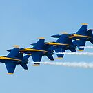 Blue Angels Stacked by Henry Plumley