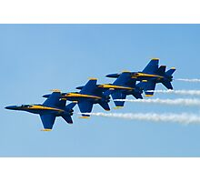 Blue Angels Stacked Photographic Print
