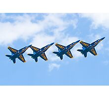 Blue Angels Tucked Under with Hook Photographic Print