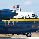 Tight Shot Blue Angels Fat Albert Taxiing by Henry Plumley
