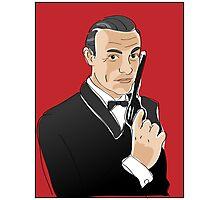 Digiter - Bond, Sean Connery Photographic Print