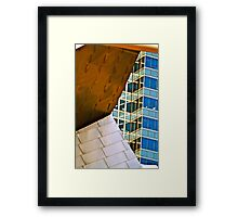 Corner Office Framed Print
