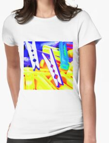 Peg Play Womens Fitted T-Shirt