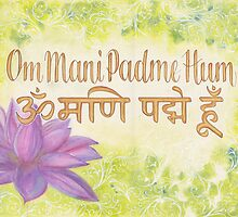 Om Mani Padme Hum by helenclare