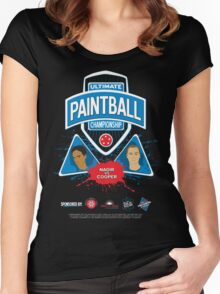 Ultimate Paintball Championship Women's Fitted Scoop T-Shirt