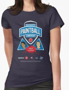 Ultimate Paintball Championship Womens Fitted T-Shirt