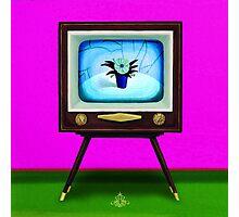 On TV Photographic Print