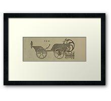 Vintage bike 2 Framed Print