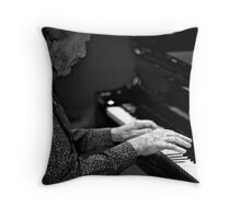 The Maestro's hands Throw Pillow