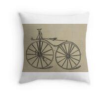Vintage bike 3 Throw Pillow