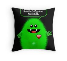 ALL THE THINGS I LIKE Throw Pillow