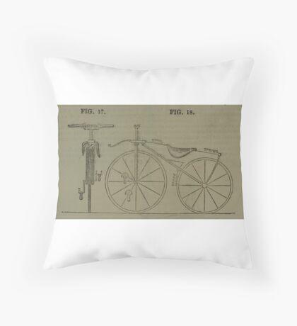 Vintage bike 4 Throw Pillow