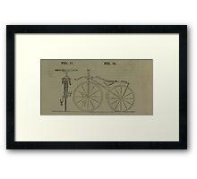 Vintage bike 4 Framed Print