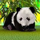 Panda Bear Cub by Vac1