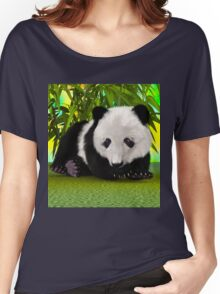 Panda Bear Cub Women's Relaxed Fit T-Shirt