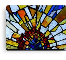 Stain Glass 1 Canvas Print