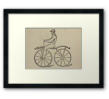 Vintage bike 5 Framed Print