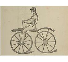 Vintage bike 5 Photographic Print