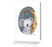 Christmas Koala Greeting Card