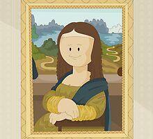 Gioconda by Leonardo Da Vinci by alapapaju