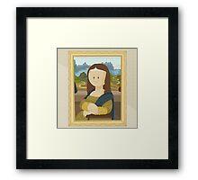 Gioconda by Leonardo Da Vinci Framed Print