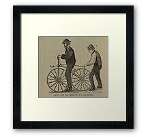 Vintage bike 7 Framed Print
