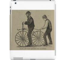 Vintage bike 7 iPad Case/Skin