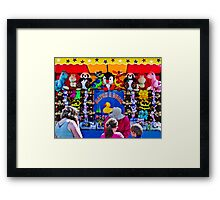 Catch a  Duck - Every Child Wins a Prize Framed Print
