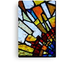 Stain Glass 2 Canvas Print