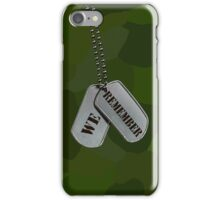 Patriotic Tags (iPhone Case) iPhone Case/Skin