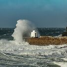 Storms at Portreath by Brian Roscorla