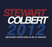 Stewart / Colbert 2012 by mouseteeeeeth