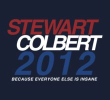 Stewart / Colbert 2012 One Piece - Short Sleeve