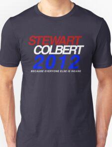 Stewart / Colbert 2012 T-Shirt