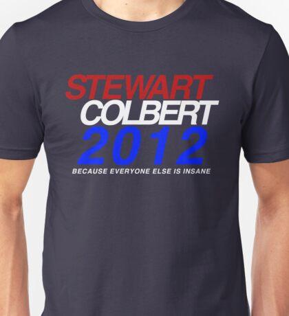 Stewart / Colbert 2012 Unisex T-Shirt
