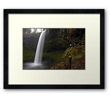 Shooting The Falls Framed Print