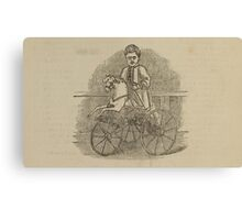 Vintage bike 8 Canvas Print