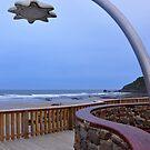 Shower block, Godfrey's Beach, Stanley, Tasmania by Edge-of-dreams